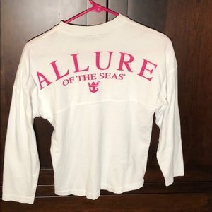 Other - Girls ALLURE OF THE SEAS long sleeve shirt